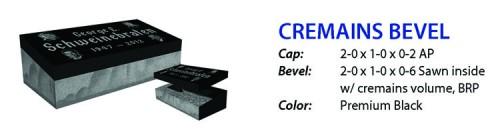 cremains bevel
