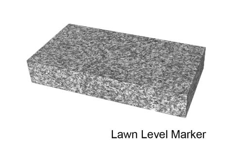 Lawn Level Marker
