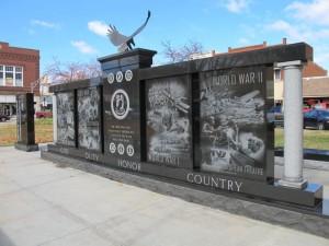 Veteran Memorial at Scottsburg,IN