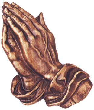 Bronze Prayer Hands 22330