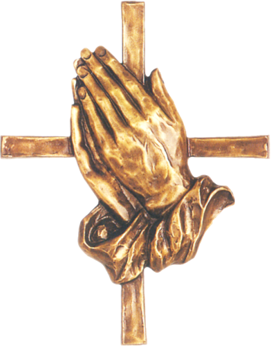 Bronze Prayer Hands 24350