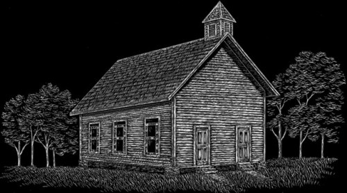 Religious fewell monument for Fewell custom homes