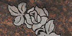 Flat Carve Rose