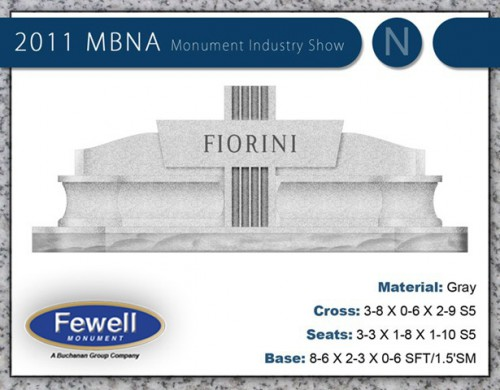 Mbna 2011 fewell monument for Fewell custom homes